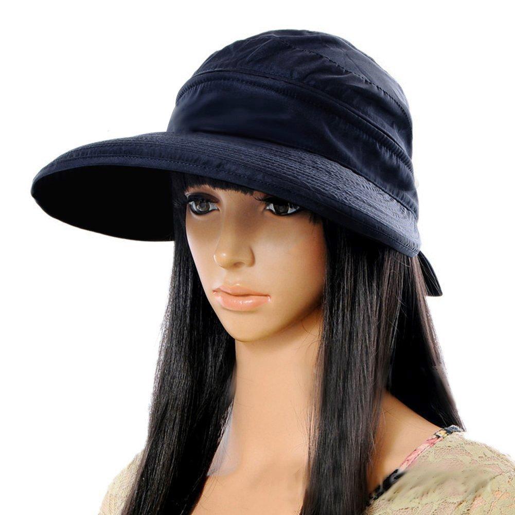 VBIGER Visor Hats Wide Brim Cap UV Protection Summer Sun Hats for Women