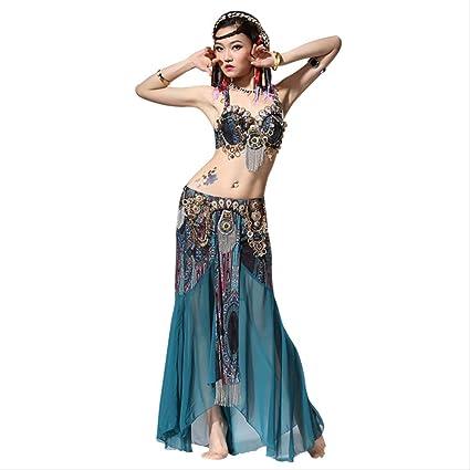KLMWDDPWY Danza del Vientre Mujer Actuación De Escenario ...