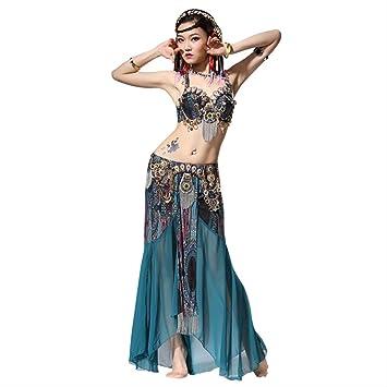 KLMWDDPWY Danza del Vientre Mujer Actuación De Escenario Mujeres ...
