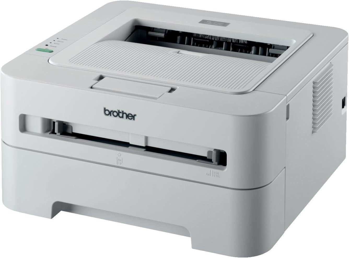 Brother HL2135W - Impresora láser Blanco y Negro (A4, 20 ppm, WiFi ...