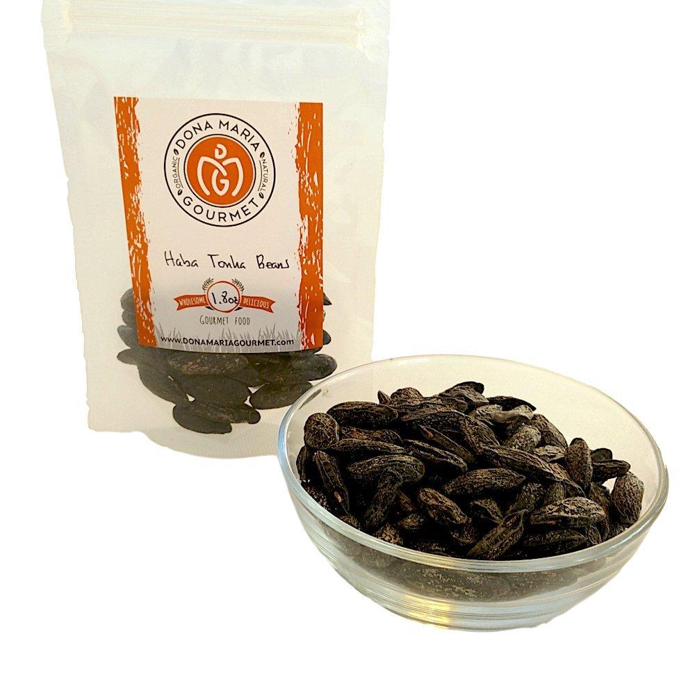 Whole Tonka Beans 1.8 oz Beans Spices Pure Cumaru Vanilla Bean (Dipteryx odorata) Haba Tonka