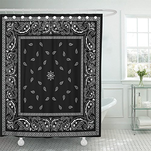 Best Deals On White Shower Curtain With Black Border Products