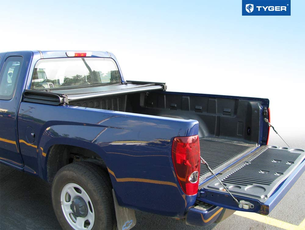Tyger Auto T3 Tri-Fold Truck Tonneau Cover TG-BC3C1002 Works with 2004-2012 Chevy Colorado//GMC Canyon 2006-2008 Isuzu I280 Fleetside 6 Bed