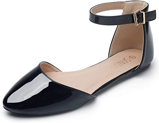 Amazon.com | SANDALUP Pointy Toe Flats