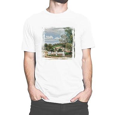 Big Box Art T-Shirt Alfred Sisley La Mare Aux Canards  Amazon.co.uk ... 170751f95
