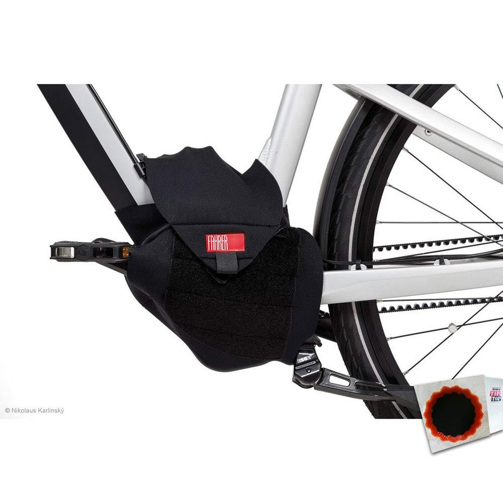 Basil Display Schutzhülle Neopren black lime Fahrrad