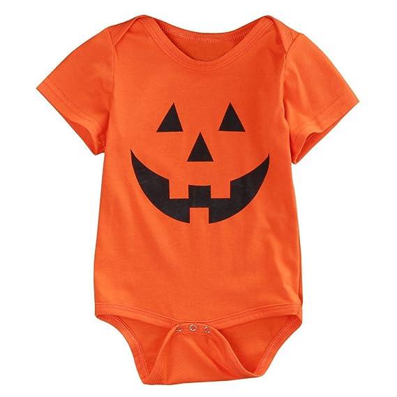 POLP Niño-Halloween Bebe Invierno Disfraz Halloween Bebe Calabaza Disfraces de Disfraces de Halloween para niños Niños de la Moda Bebés Bebés Niñas ...