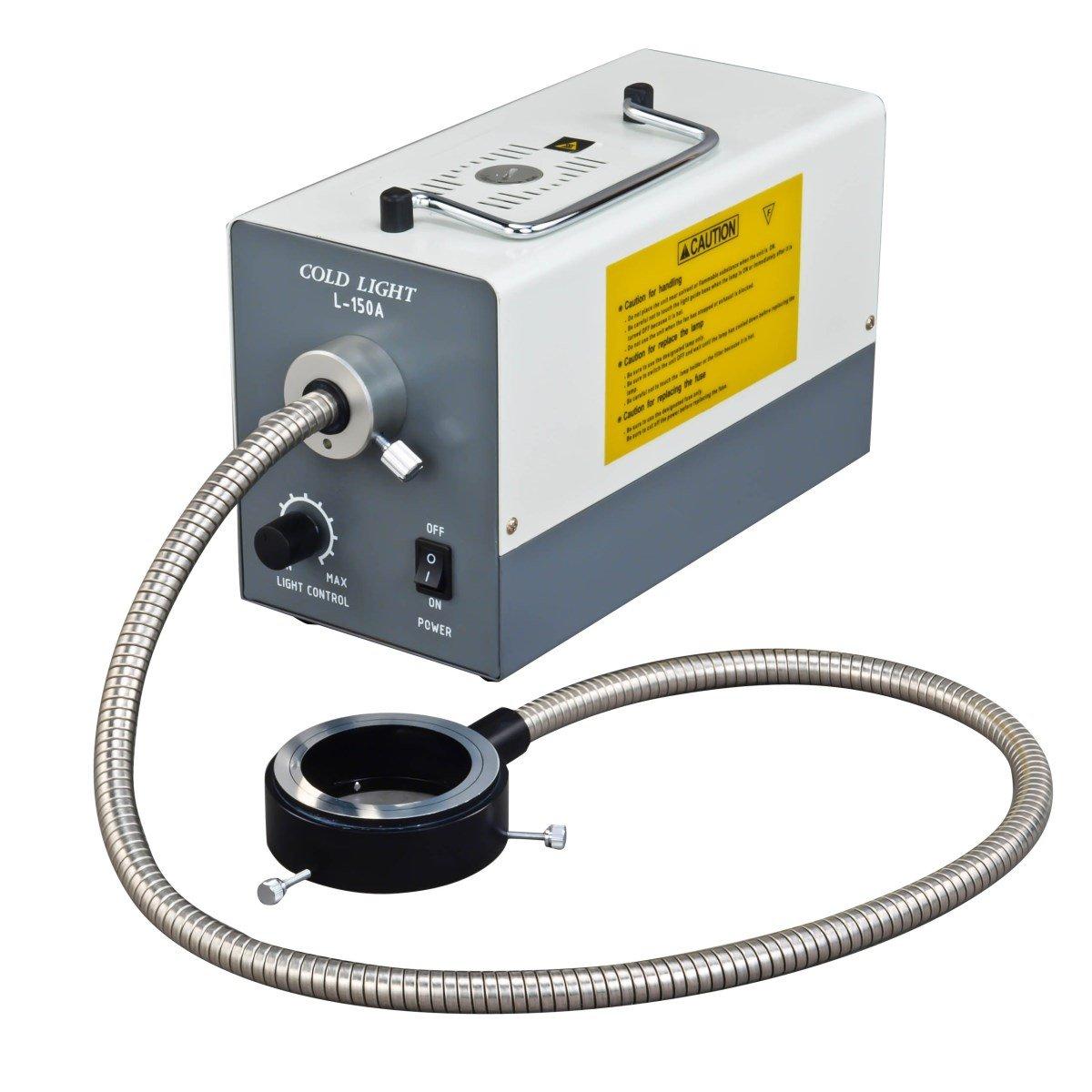 OMAX Kaltring-Leuchte 150 W, mit 0,91 m Faser B01D914JN0 | Deutsche Outlets  | Modern  | Zart