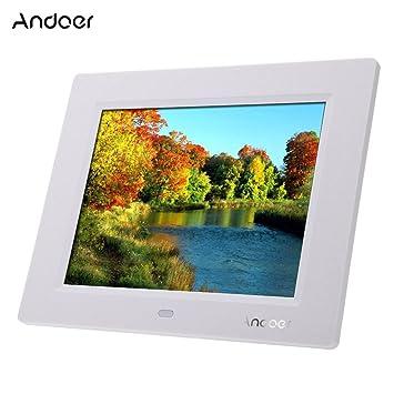 8\'\' Ultrathin HD TFT-LCD Digital Photo Frame Alarm: Amazon.co.uk ...