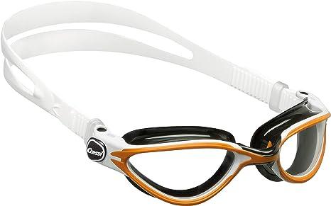 96ef01577209 Cressi DE203585 Occhialini da Nuoto, Unisex – Adulto, Nero/Arancione,  Taglia Unica