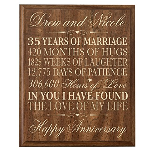 12 Months Of Dates Wedding Gift: 35th Anniversary Gift For Wife: Amazon.com