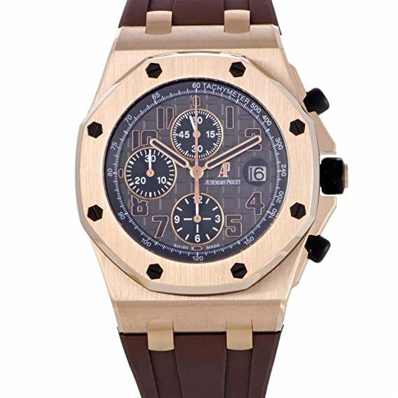 Audemars Piguet Audemars Piguet automatic-self-wind Mens Reloj 26192or. d0801cr. 01 (Certificado) de segunda mano: Audemars Piguet: Amazon.es: Relojes