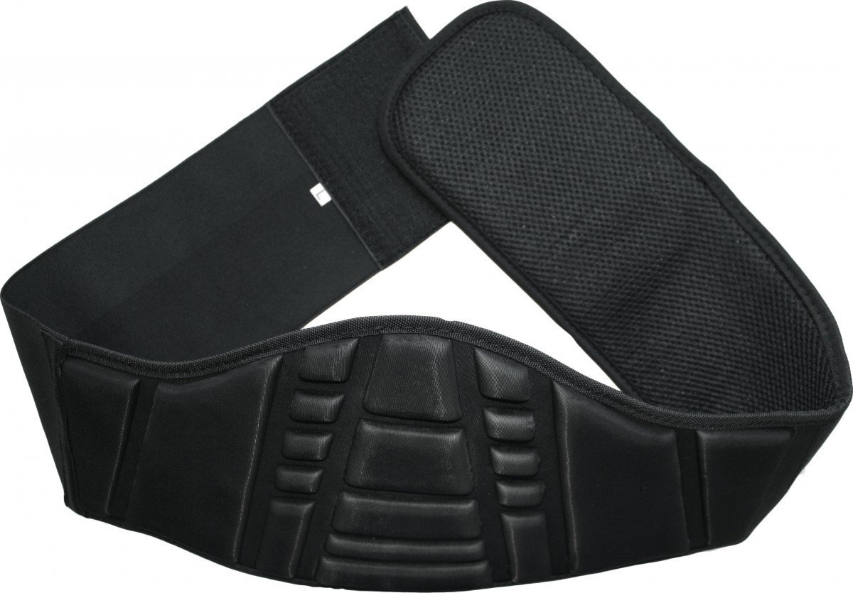 German Wear Faja Lumbar Moto motorradnierengurt Safety espalda correa, tamañ o: XL tamaño: XL GW522B Schwarz XL