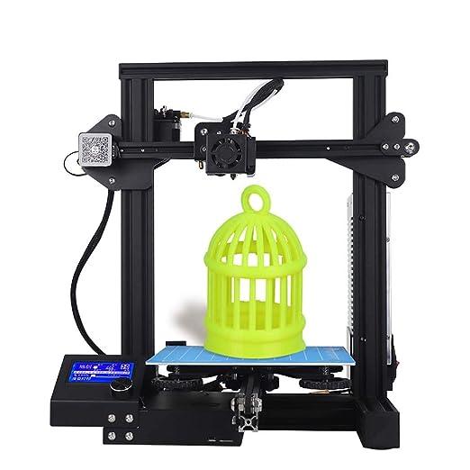 WSHZ Impresora 3D Nueva versión, con Todo el Metal del Marco y del ...
