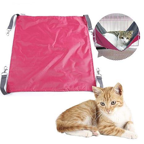 Biback - Hamaca para Gatos y Mascotas, Tela Oxford, Hamaca para Gatos, Cama