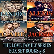 The Love Family Series Box Set, Books 5-8 | Kate Allenton