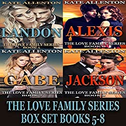 The Love Family Series Box Set, Books 5-8
