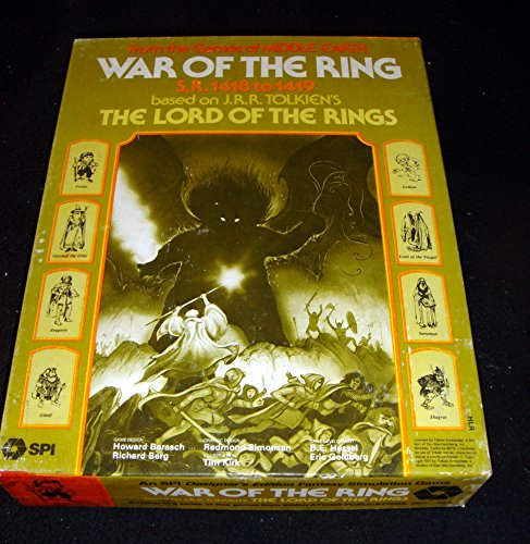 War Of the Ring (Board Game) (War Of The Rings Board Game)