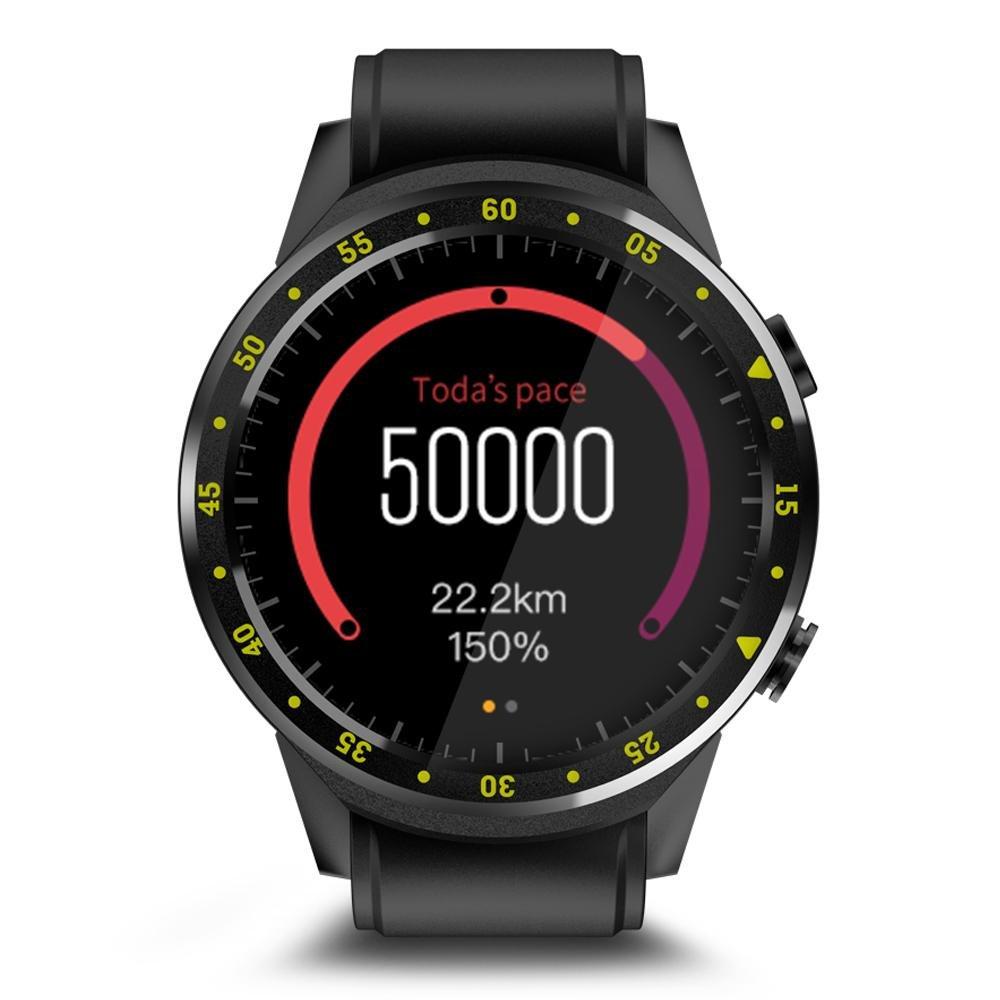 Teepao GPS Reloj Inteligente Deportivo con Doble Cámara Altímetro ...
