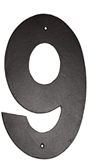 product image for Montague Metal Products Helvetica Font Individual House Number, 9, 10-Inch