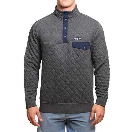 33db0ce4e20 Patagonia Men's Cotton Quilt Snap-T Pullover at Amazon Men's ...
