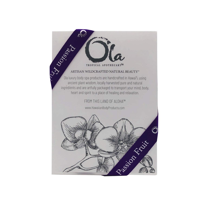 Ola Tropical Apothecary Passion Fruit Mini Trio Box Set – Body Wash, Lotion, and Mist – 2 fl oz each