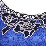GIFC Women Plus Size Fashion Print Rose Lace Short