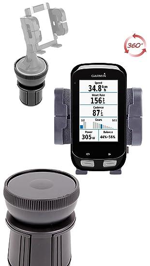 DURAGADGET Base Soporte Portavasos Navegador GPS Garmin Edge 1000/810 / 510: Amazon.es: Electrónica