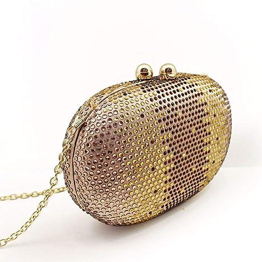 Hi-Smile Mini Cartera Europa y los Estados Unidos Bolsos de Mujer Cajas duras Diamantes de perforación en Caliente Bolso de Noche de Diamantes Monedero ...