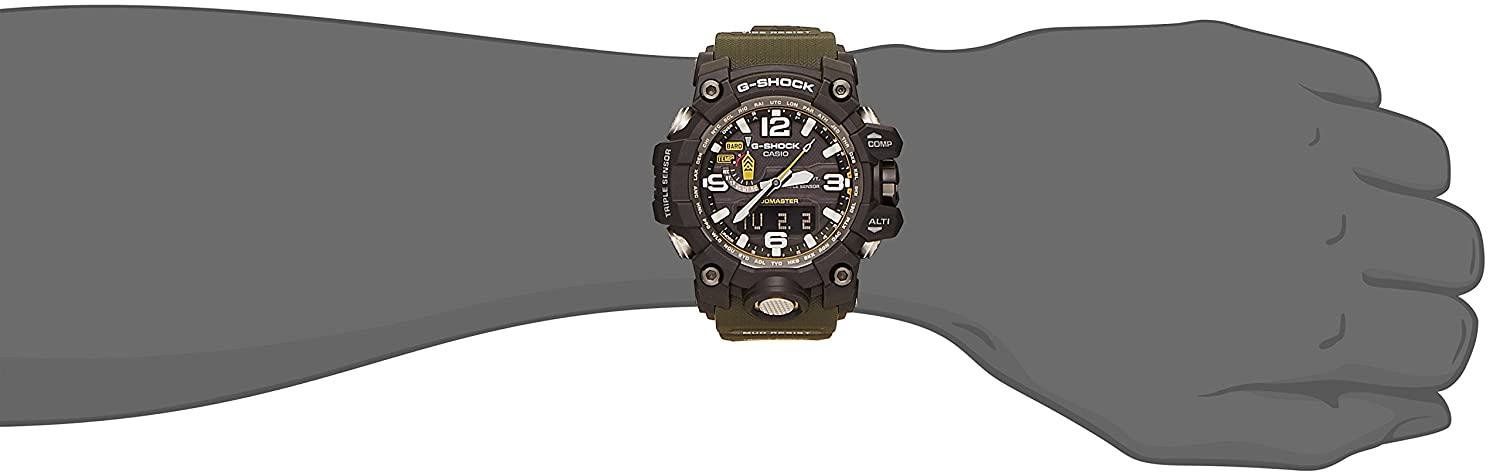 Amazon.com  CASIO G-Shock MUDMASTER Mens Japan Import GWG-1000-1A3  Watches 2bf924e057