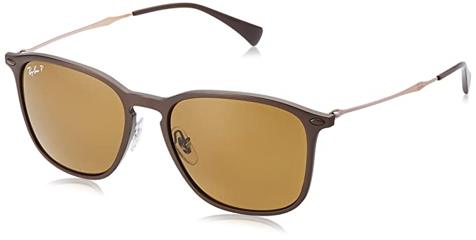 Ray-Ban 0RB8353, Gafas de Sol Unisex, Brown Graphene, 55 ...