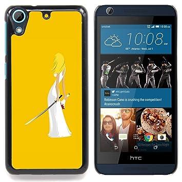 For HTC Desire 626 Case , Matar Arte Ninja Espada Mujer ...