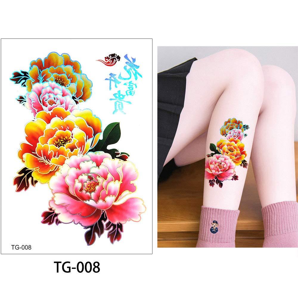 adgkitb Tatuaje Temporal del Arte del Cuerpo de la Etiqueta ...