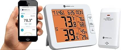 Amazoncom Ambient Weather Ws 8482 7 Channel Wireless Internet