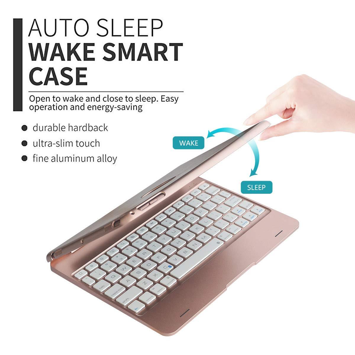 iPad Keyboard Case for iPad Pro 9.7 Inch Auto Wake and Sleep iPad ...