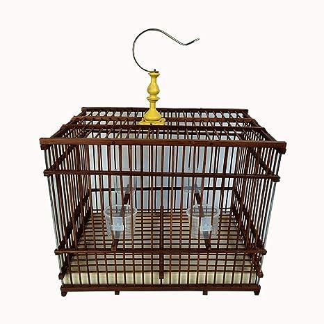 Yuanjiashop Jaula para Loro Jaula de pájaros Ornamental al Aire ...