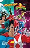 img - for Justice League/Power Rangers book / textbook / text book