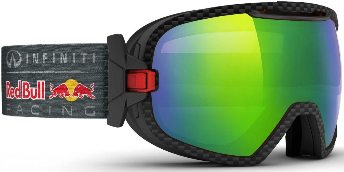 ccc64c9fe4 Red Bull Racing Eyewear Goggles RBRE Parabolica 007S Black Jungle Race   Amazon.co.uk  Sports   Outdoors
