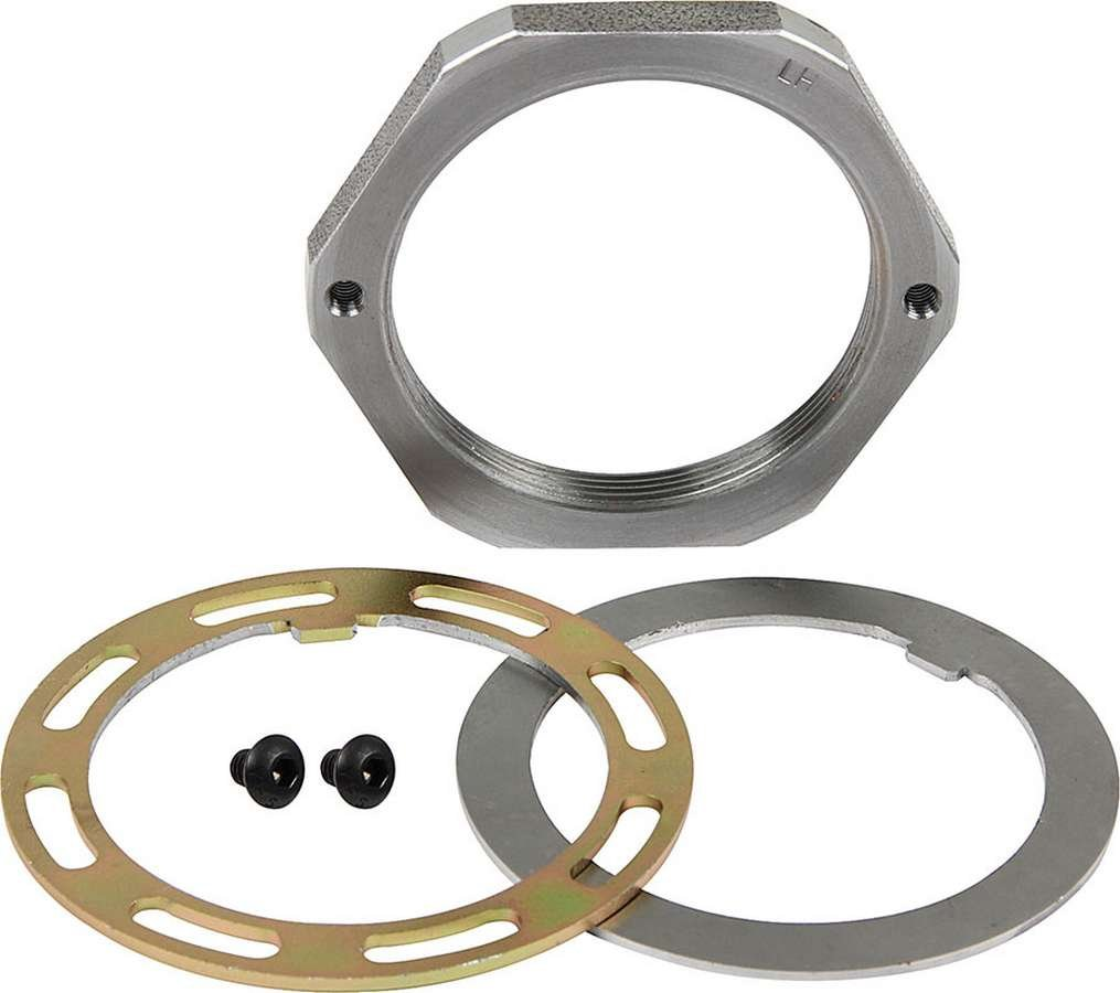 Allstar Performance ALL72174 Spindle Nut Kit2.5 Pin Steel LH Thread