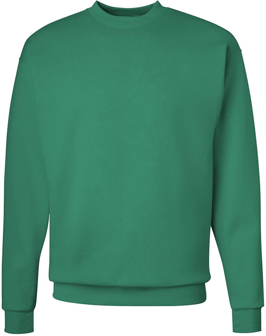 Hanes Adult ComfortBlend Crewneck Rib-Knit Fleece Sweatshirt P160