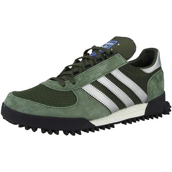 reputable site 6fce1 80159 Adidas Marathon TR, Zapatillas de Deporte para Niños, Verde  (VerbasCarnocNegbas 000), 38 EU Amazon.es Zapatos y complementos