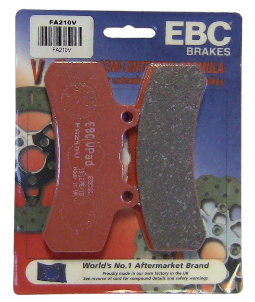 EBC Brakes FA210V Semi Sintered Disc Brake Pad