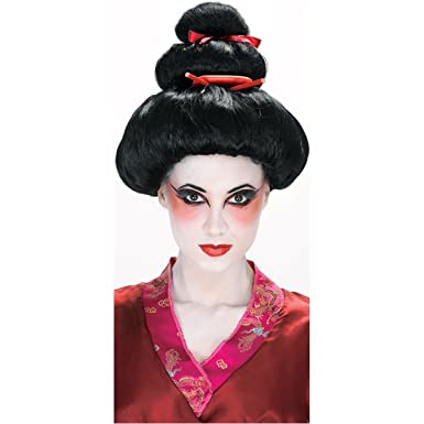 Geisha Wig Costume Accessory