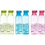 Nayasa Square Water Bottle 1000Ml Blue