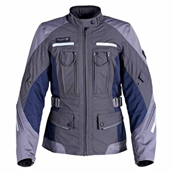 Amazon.com: Triumph Navigator Jacket for Women M Gray ...