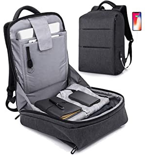 f82194e48d Anti Theft Backpack - 17inch Business Laptop Backpacks with USB Charging  Port