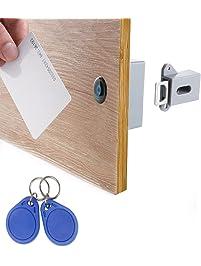 RFID Locks For Cabinets Hidden DIY Lock   Electronic Cabinet Lock, RFID  Card/Tag