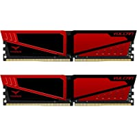 Team T-Force Vulcan 16GB (2 x 8GB) PC4-24000 3000MHz DDR4 SDRAM 288-Pin DIMM Desktop Memory