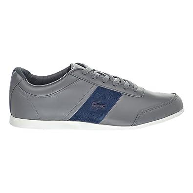 7e418f866 Lacoste Embrun 316 1 Cam Men s Shoes Dark Grey Blue White 7-32cam0058