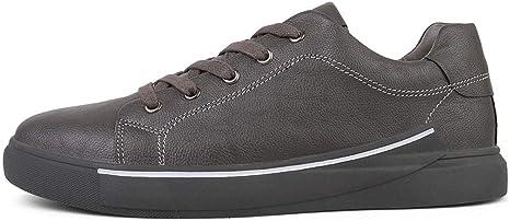 YUTING Zapatos de Cordones para Hombre Conducción Zapatillas ...